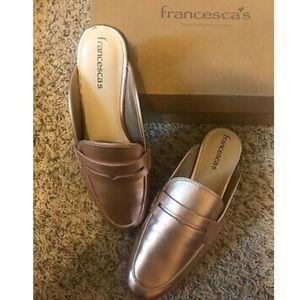 Franchesca's Paislie Metallic Mule